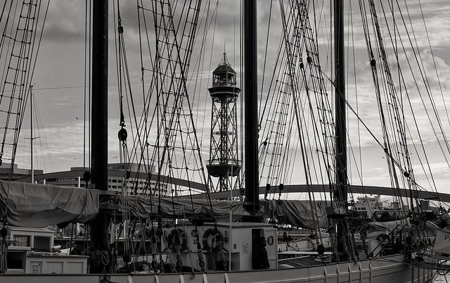 Barcelona/ old harbour