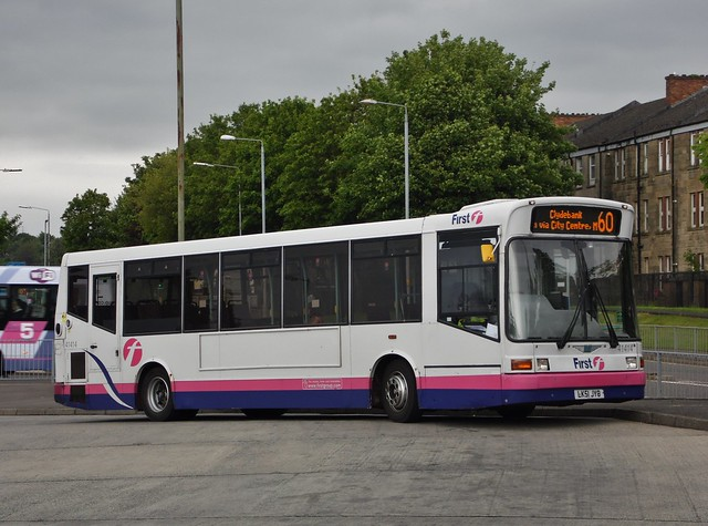 First Glasgow LK51 JYO (41414)   Route 60   Clydebank Bus Station, W. Dunbartonshire