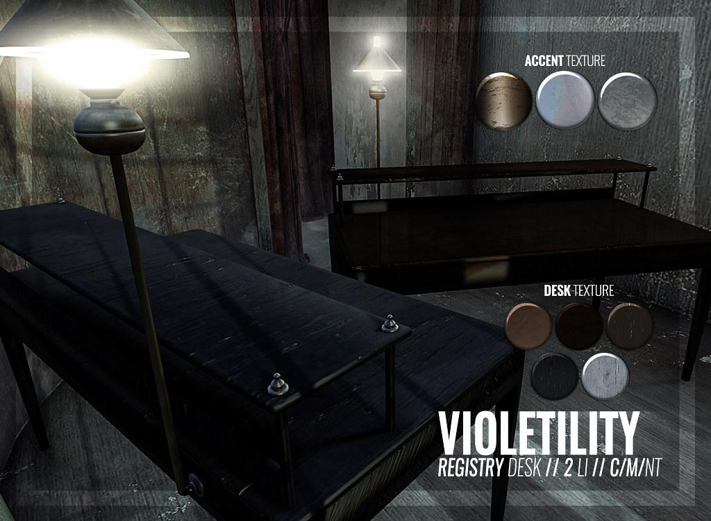 Violetility – Registry Desk
