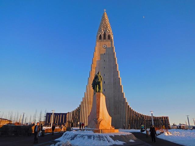 Hallgrimskirkja - Reykjavik ICELAND