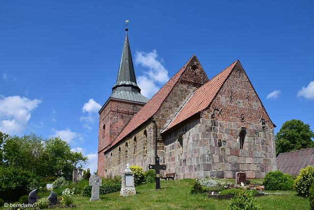 Dorfkirche in Padingbüttel / Landkreis Cuxhaven