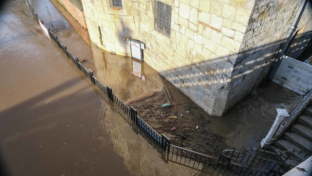Flooded River Ouse, York, January 2021 - 10
