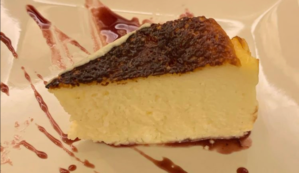 Homemade cheese cake of the Cova del Xifré