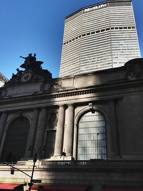 Grand Central Station and Metlife bldg, NYC