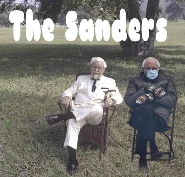 The Sanders.