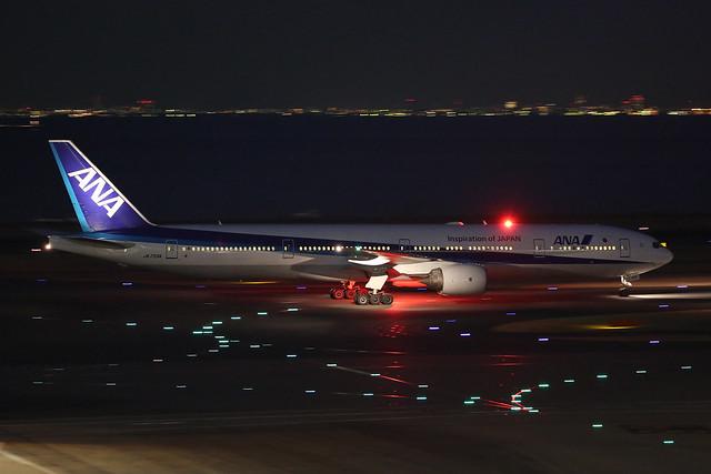 JA755A, Boeing 777-300, All Nippon Airways, Tokyo - Haneda