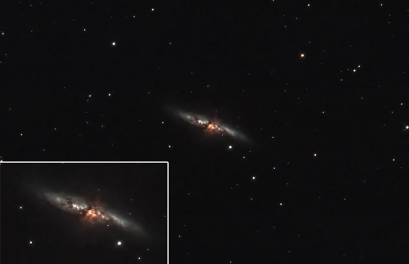 M82 tri-band