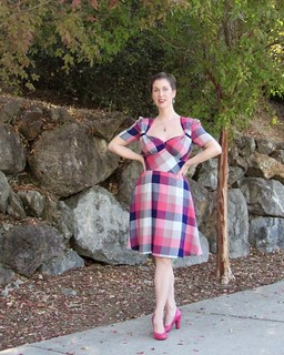 Flirty Forties Plaid, or is it Buffalo Check? | by vintage laura