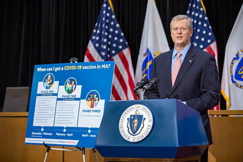 Baker-Polito Administration announces expansion of COVID-19 vaccination sites, updates to Phase Two | by Office of Governor Baker