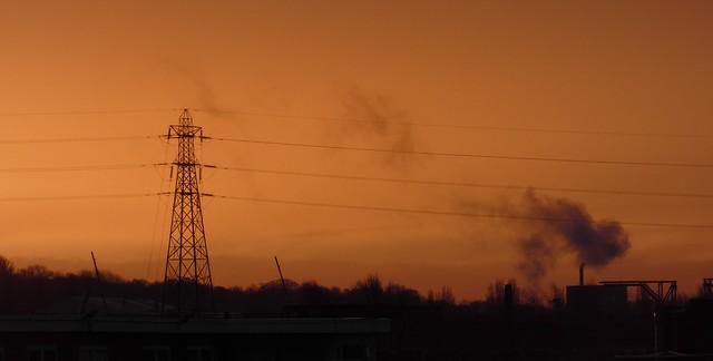 Industrial Panorama at Tyne Yard