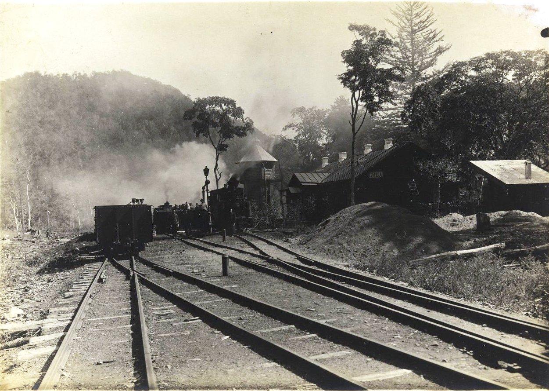 Станция Сица Сучанской узкоколейной железной дороги