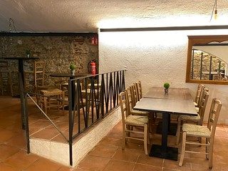 Indoor place of the Cova del Xifré