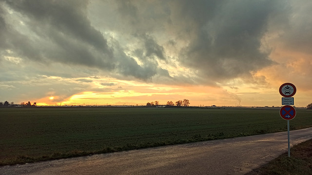 Sunset at Landschadhöfe