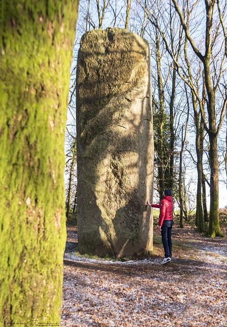 Menhir de Kermarquer