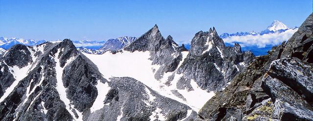 Alta Valdeserta vista dal Monte Figascian/Albrunhorn. AlpeDevero, Parco Regionale Veglia-Devero