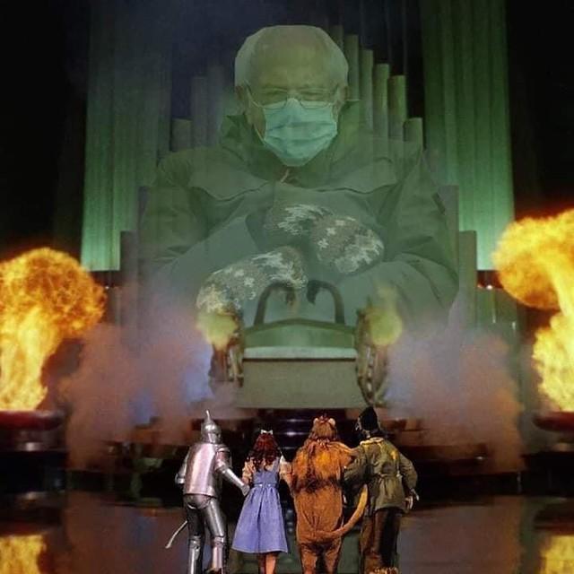 Wizard of Oz Bernie.