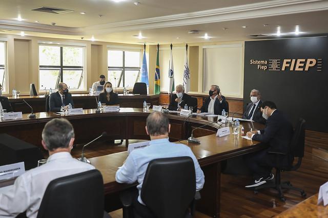 Reunião do G7 com Ministério da Infraestrutura
