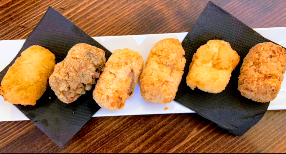 Assorted Homemade Croquettes of the Cova del Xifré