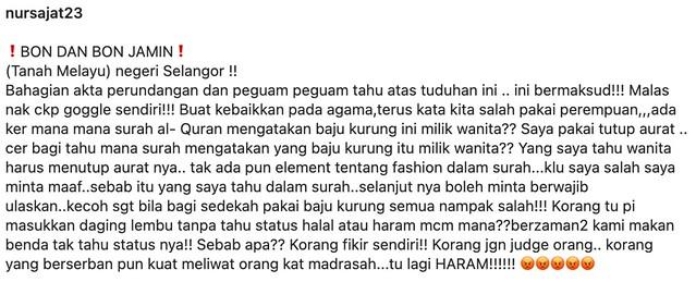 """""""Ada Ke Mana-Mana Surah Al-Quran Kata Baju Kurung Hanya Boleh Dipakai Oleh Wanita?"""" – Sajat"""