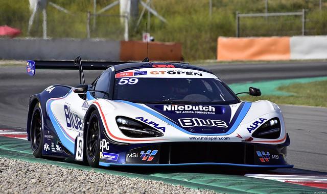 McLaren 720s GT3 /  Henrique Chaves / PRT / Martin Kodrić  / HRV / Teo Martín Motorsport