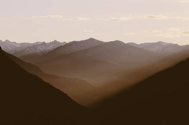 Sunset from Ernen