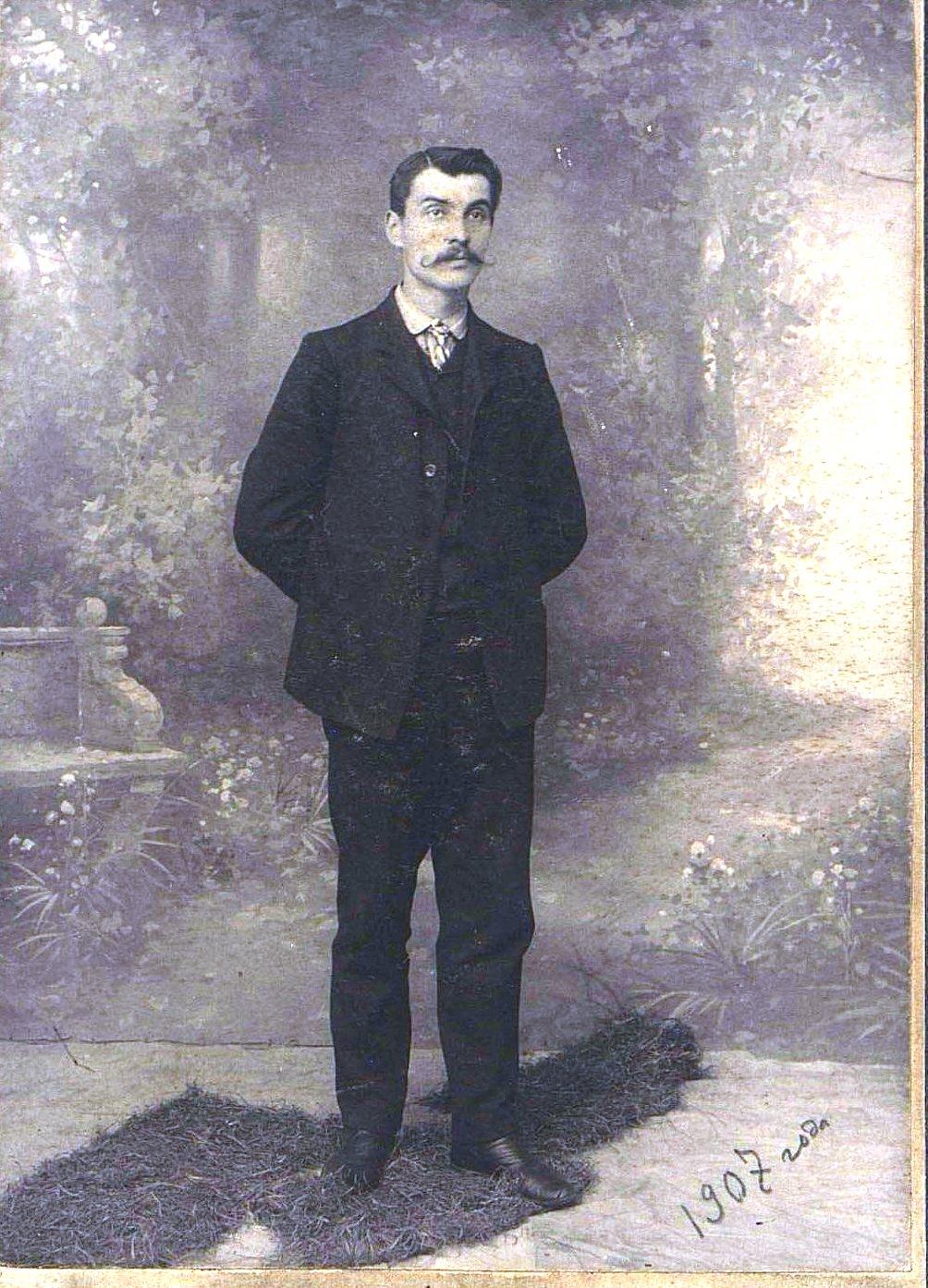 Кравец Александр Петрович, литографский мастер типографии Е.А. Пановой «Дальний Восток». 1907