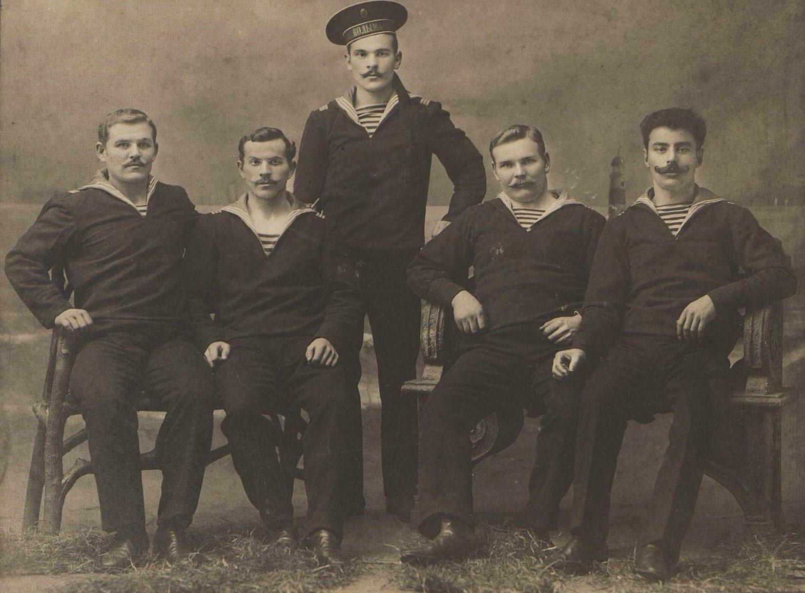 Команда транспортного корабля Колыма. 1914