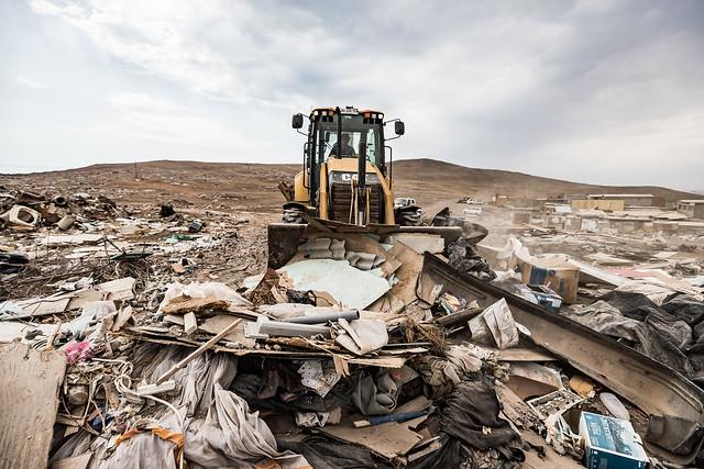Limpieza sector baldío