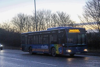 Go North East Washington Based Mercedes Benz Citaro 5294(NK08 CGV) Seen At Nissan Sunderland While Working The Shuttle To The Nightngale  Hospital Credit To My Mate For Eding Tbis Pic