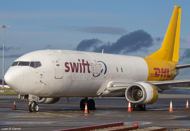 Swiftair B737-400SF EC-MFE