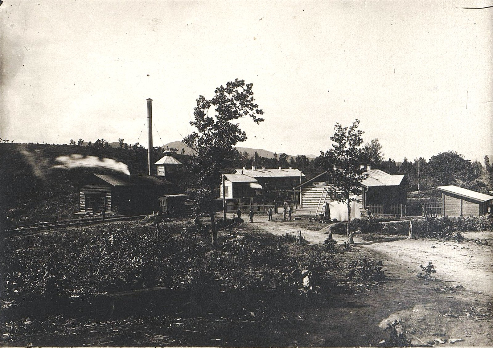 Станция узкоколейной железной дороги Сучан II (Шахта №2)