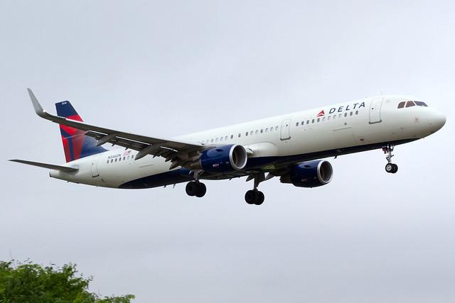 N346DN / Delta Air Lines / Airbus A321-211(WL) / LGA