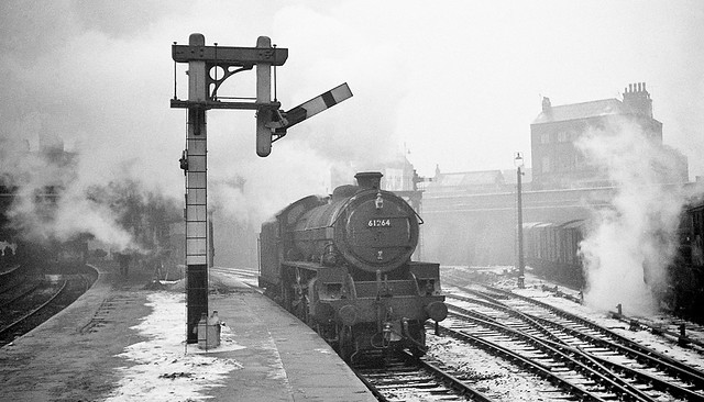 Great Central Railway Nottingham January 1963