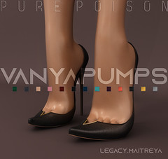 Pure Poison - Vanya Pumps - UBER