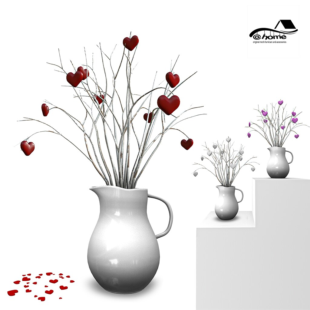 @home: jug of hearts – Love Gala Fair [Tres Chic]  – EXCLUSIVE