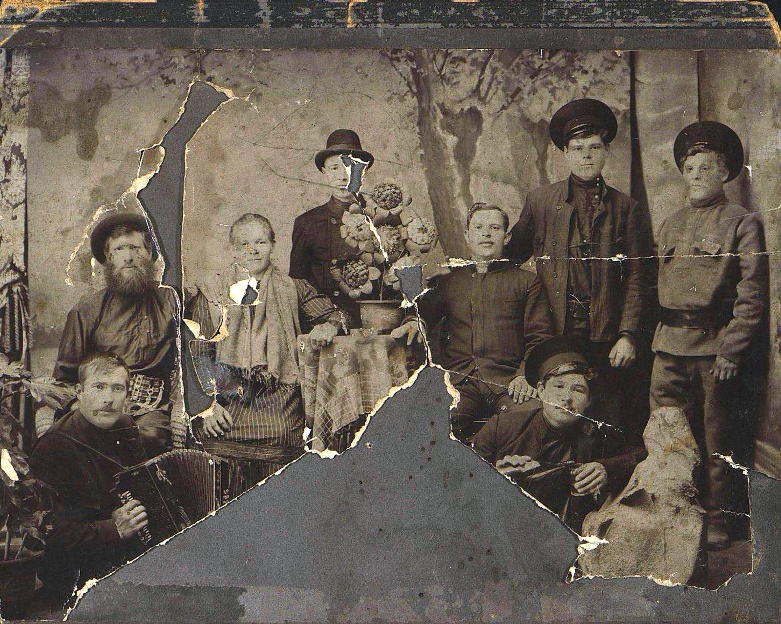 Грузчики Владивостокского порта. 1913