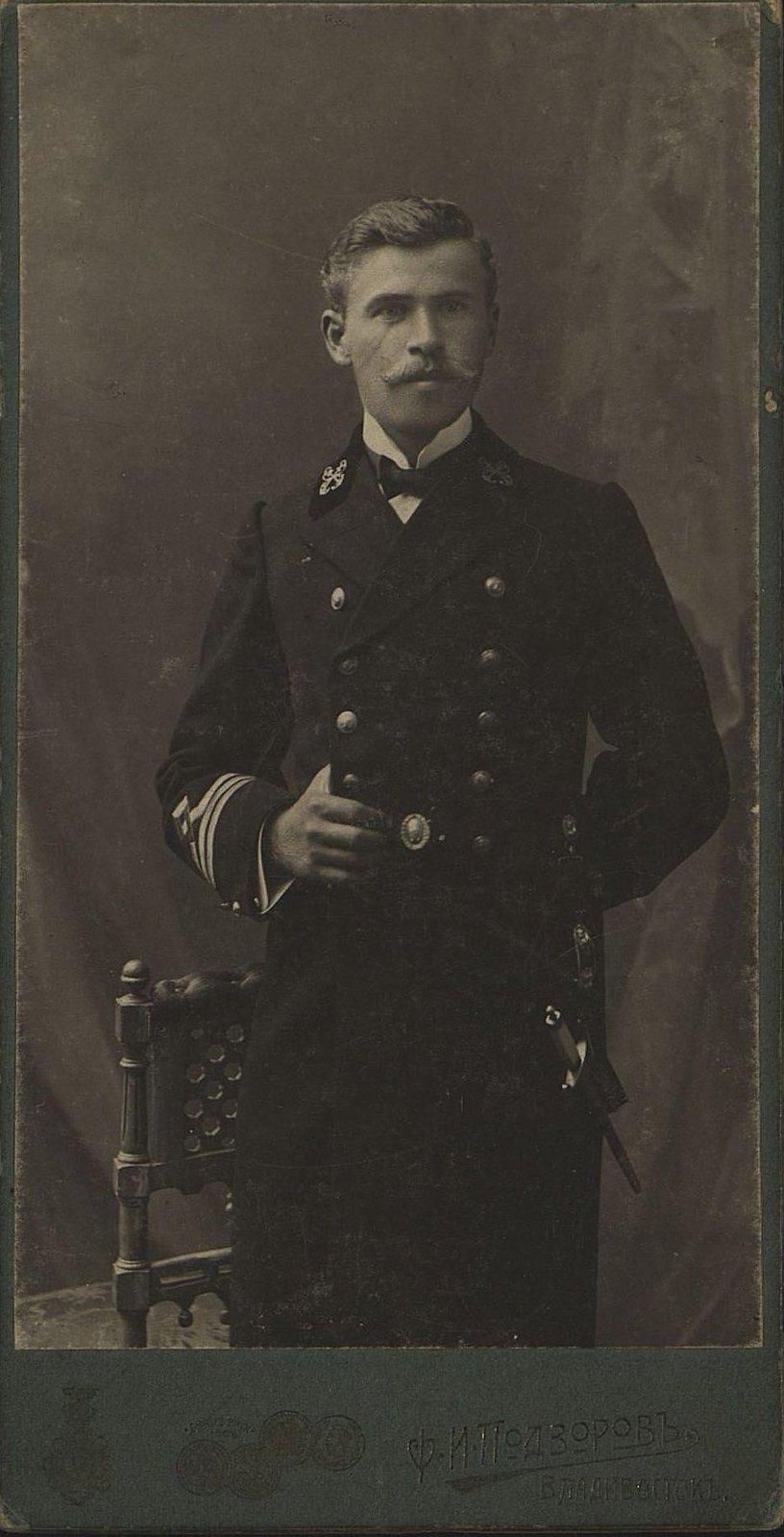 Виноградов Павел Александрович, помощник начальника Гидрографической экспедиции Восточного океана. 1912