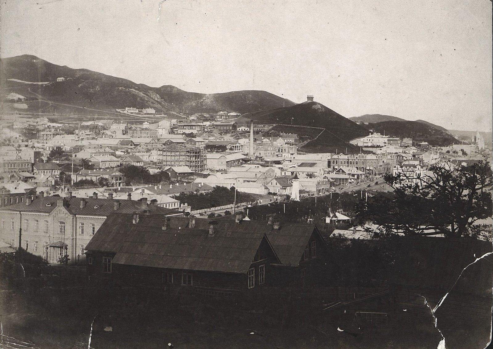 Вид на Владивосток со стороны бухты. 1898