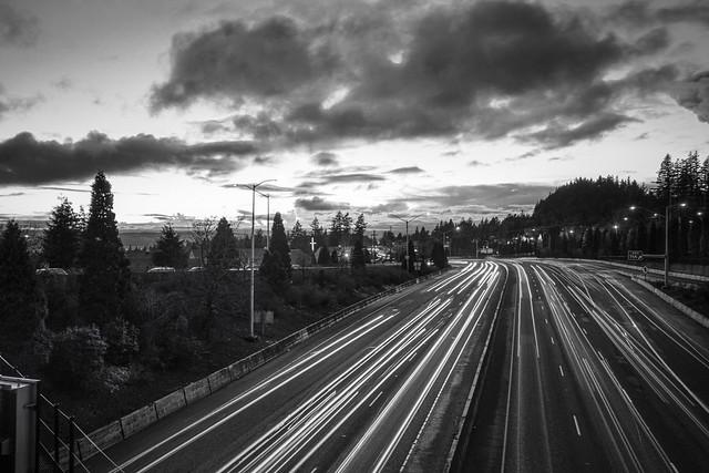 highway 26 at dusk