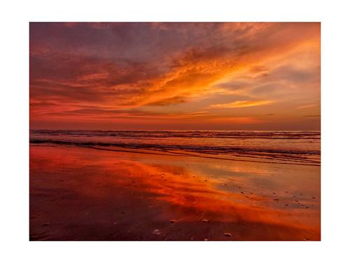 sunrise padreisland texas beach outdoors panasonic gulfofmexico reflection