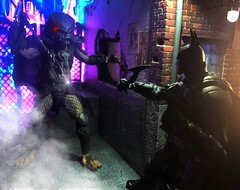 The Arkham Knight Vs The Predator..