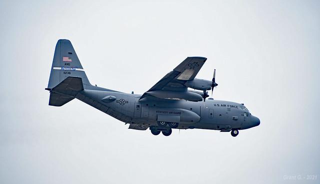 Kentuck Air National Guard - 91-1236 Lockheed C-130H Hercules in Kansas City, MO
