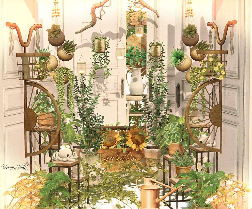 {Blog 573} Greenery Closet