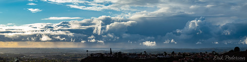 crazytuesday weather clouds sky sunlight rain ocean panorama pano landscape gray pacificocean sandiego