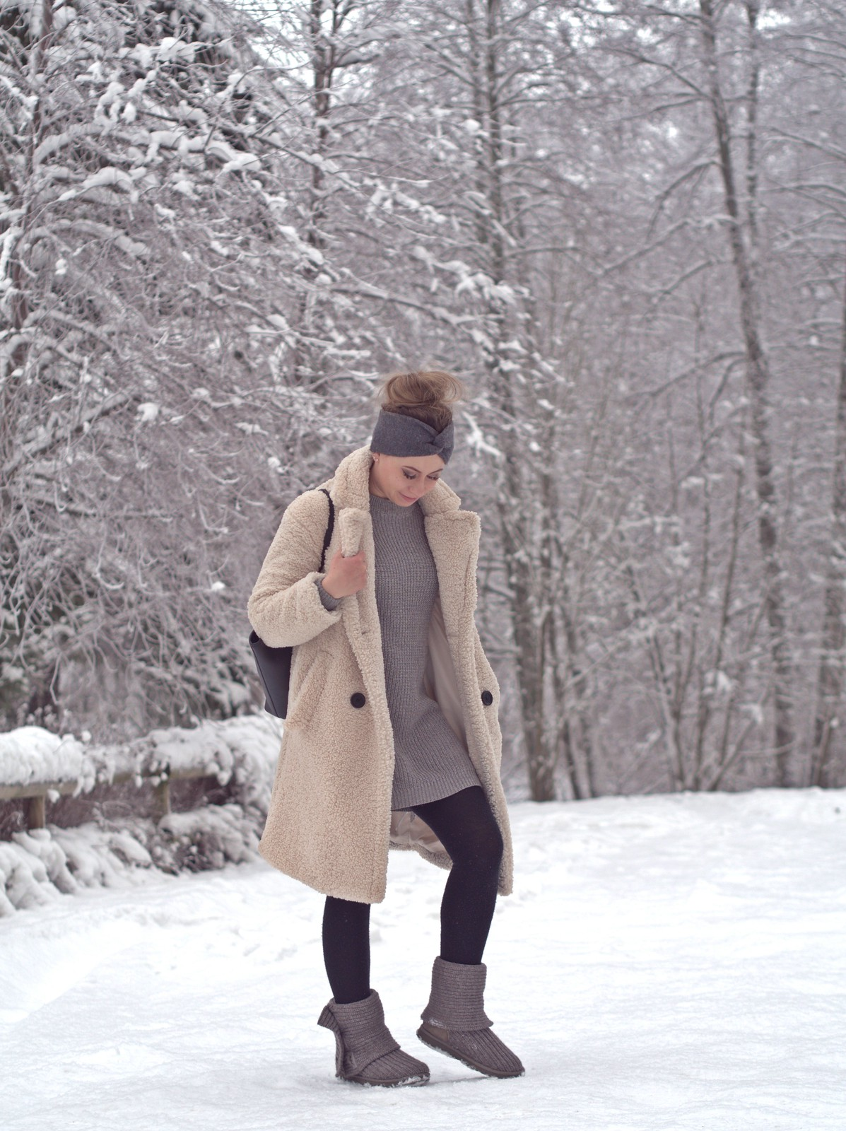 cozy winter outfit style