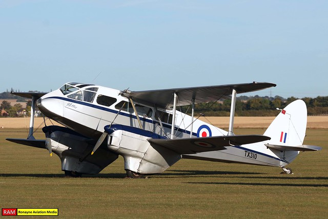 G-AIDL | De Havilland DH-89A Dragon Rapide 6 | Avalon Ventures