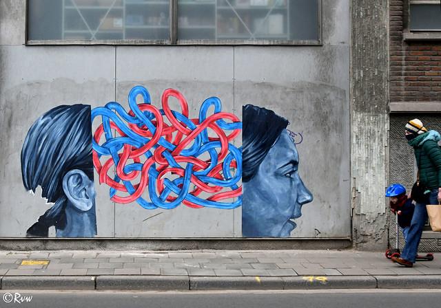 Urban art -- Leuven / Louvain (Explore 27-01-21)