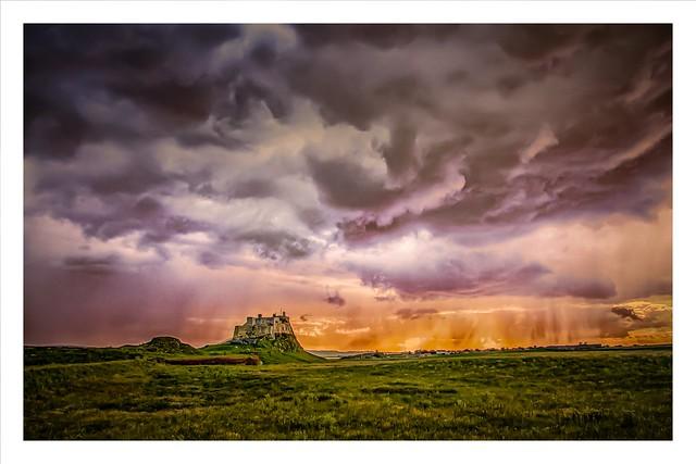 Storm Over Lindisfarne (Explored).