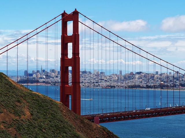 San Francisco ist eine wunderschöne Stadt. Ich Denke an die schöne Zeit   zurück.