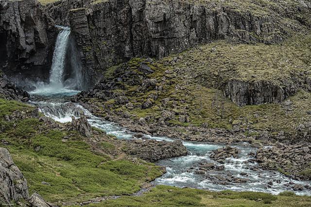 Iceland - Hengifossa River